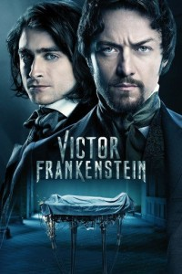 "Poster for the movie ""Victor Frankenstein"""