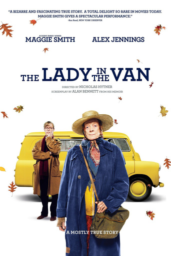 "Poster for the movie ""The Lady in the Van"""