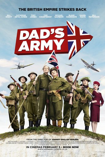 "Poster for the movie ""Dad's Army"""