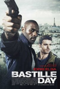 "Poster for the movie ""Bastille Day"""